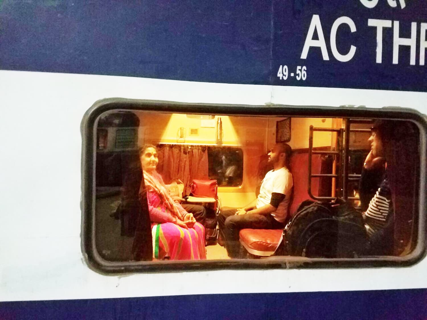 I was excited to start my journey as I boarded the train to Amritsar.