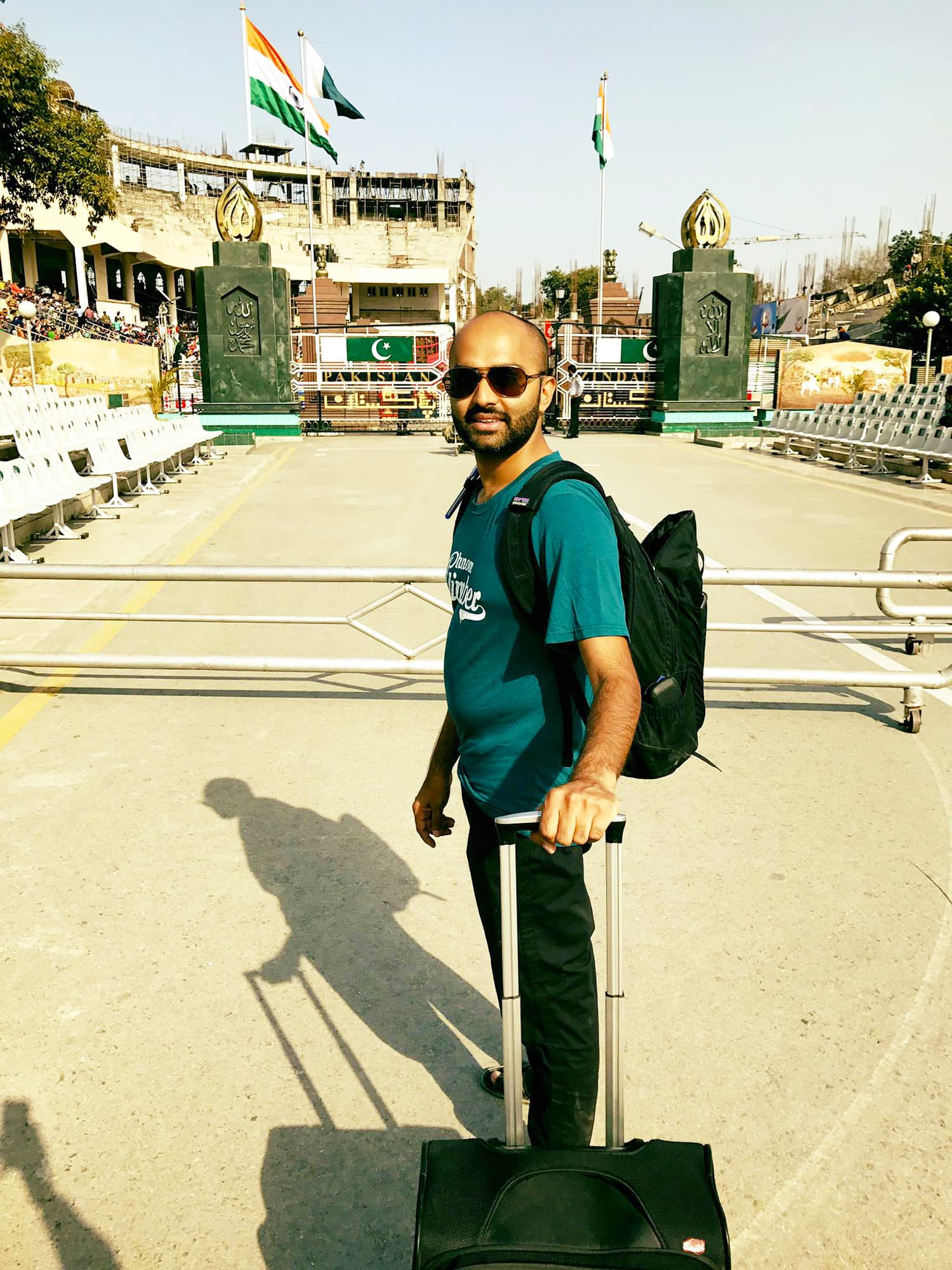 The feeling was indescribable when I first set foot on the Pakistani side of the Wagah border.