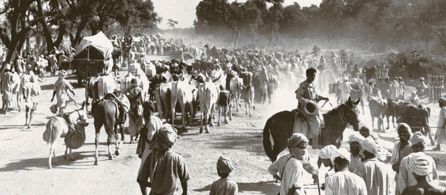 The road to partition. —​ Excerpted with permission from Witness to Life and Freedom, Roli Books, Delhi