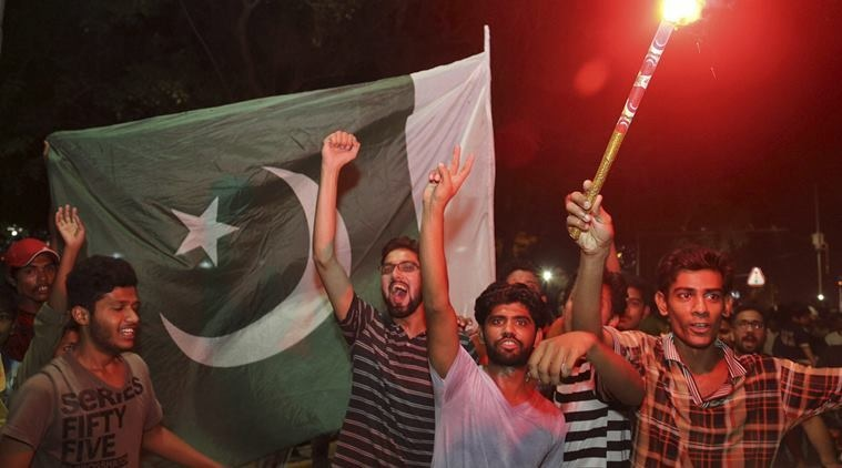 Pakistan's win against India was celebrated in Kashmir like never before