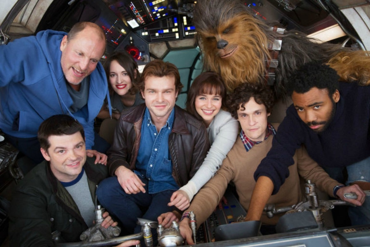Cast of the untitled Hans Solo project