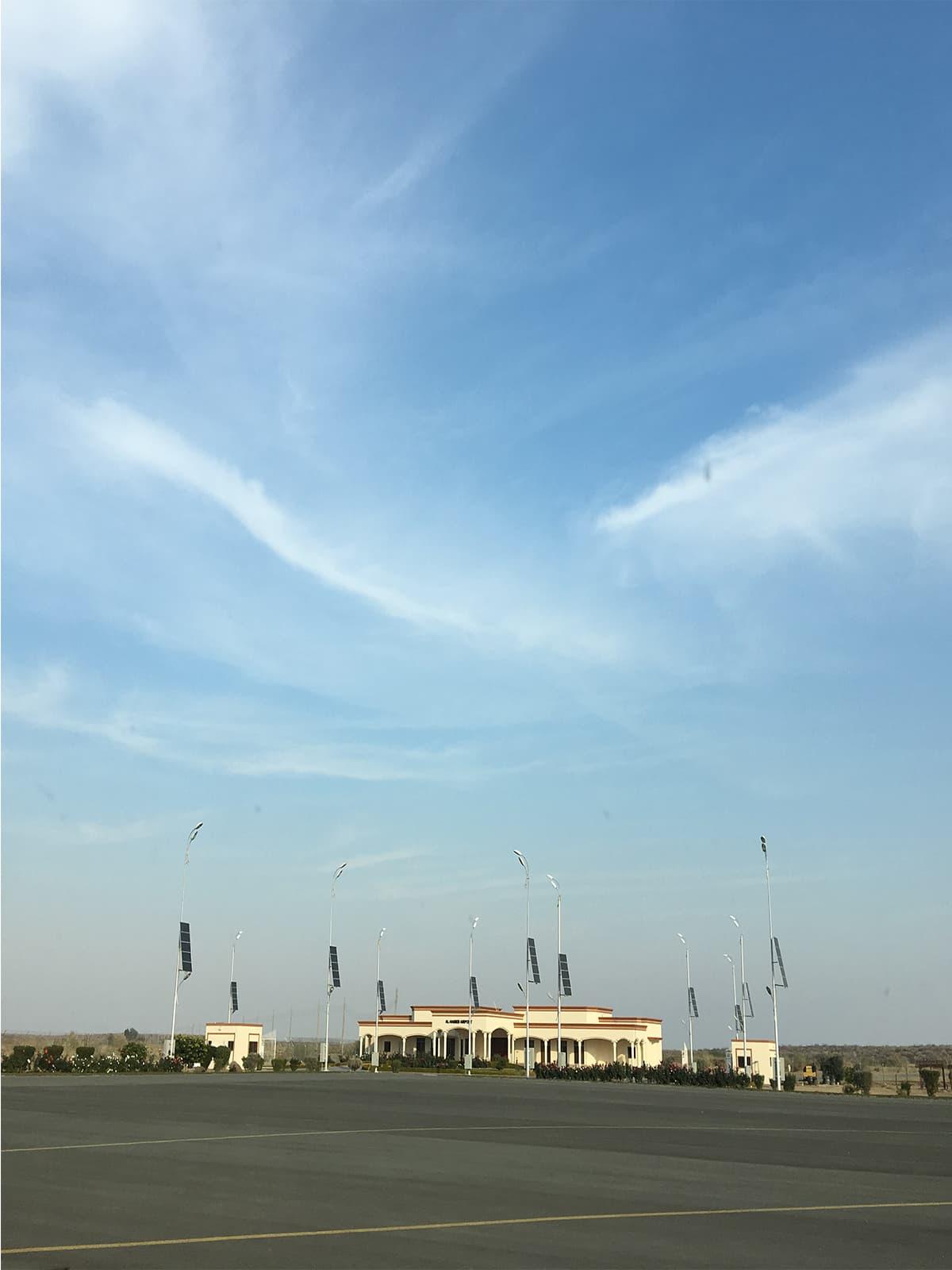 Al-Habeib Airport, Abu Dhabi's private airport in Cholistan | Subuk Hasnain