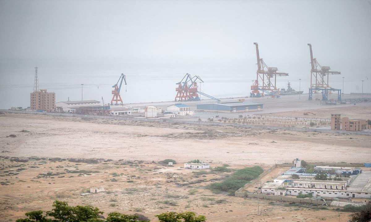 Gwadar port | Kohi Marri
