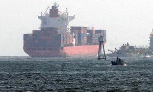 قطر کے لیے ترکی کا خوراک سے بھرا پہلا بحری جہاز روانہ