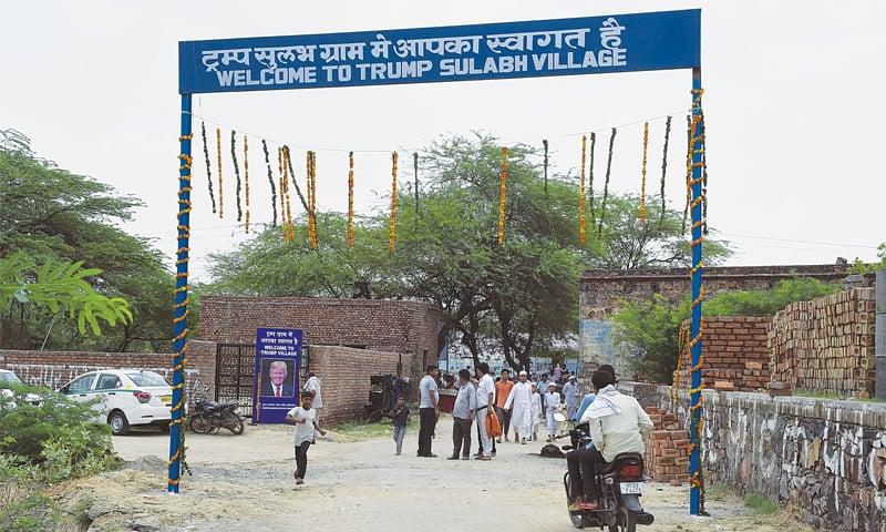'Trump Village' unveiled in India ahead of Modi's US visit