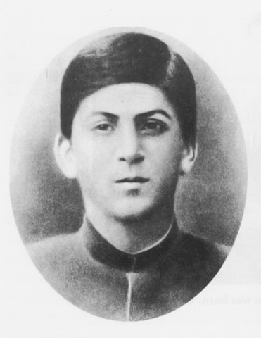 Joseph Stalin in 1893. The fourth child of Yekaterina and Vissarion Djughashvili and the first to survive past infancy, he was a student at the Tiflis Theological Seminary and expected to become an Orthodox priest | Photos from the book