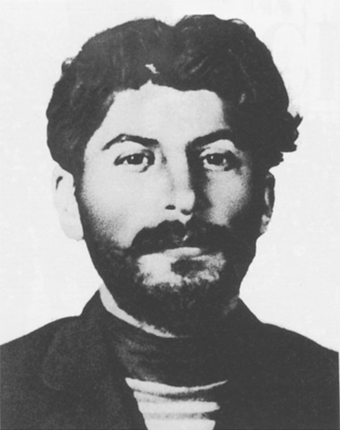 Stalin aged 28 in March 1908. For years he had been calling himself 'Koba' after the hero of the romance novel The Patricide by Alexander Kazbegi. Koba would spend the next few years in prison, later exiled to Siberia