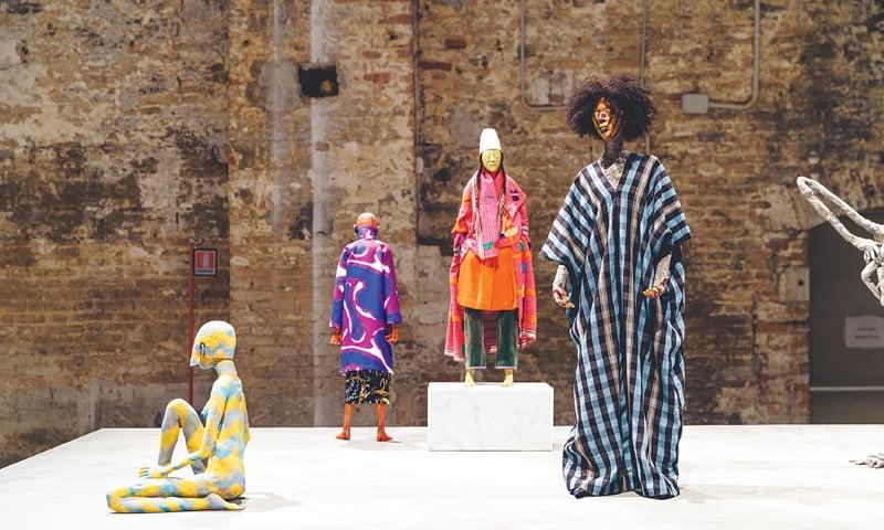 'Various works' 2016- 2017. Frances Upritchard - Photos courtesy   La Biennale di Venezia