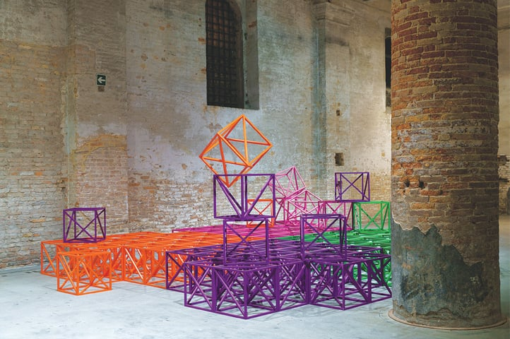 'Zero to Infinity in Venice' 2016-17, Rasheed Araeen   Photos by Andrea Avezzù, Italo Rondinella, Francesco Galli, Jacopo Salvi - Photos courtesy   La Biennale di Venezia