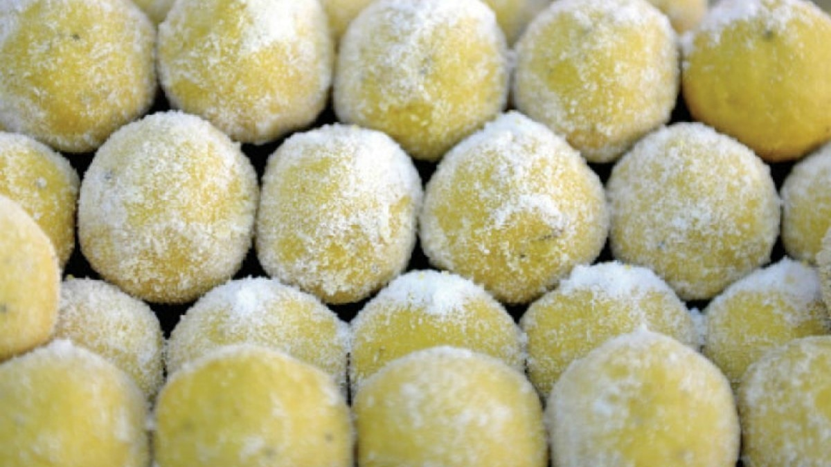 Ladoo is a traditional sweet and is served at festivals and special occasions. — White Star