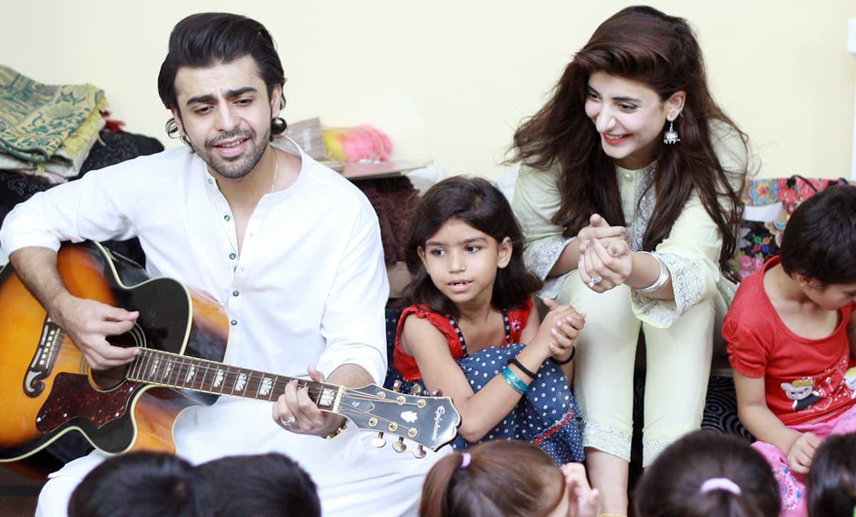 Urwa Hocane and Farhan Saeed's Eid celebration will melt your heart