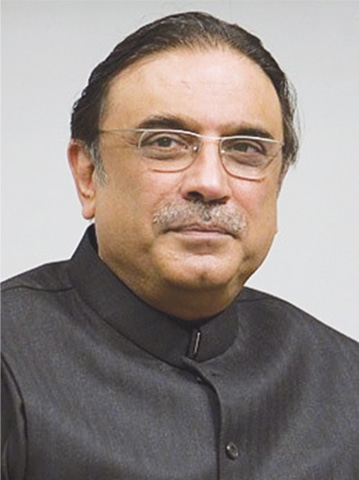 Asif Ali Zardari says previous PML-N govern­ments instituted cases against him and his wife, former PM Benazir Bhutto.