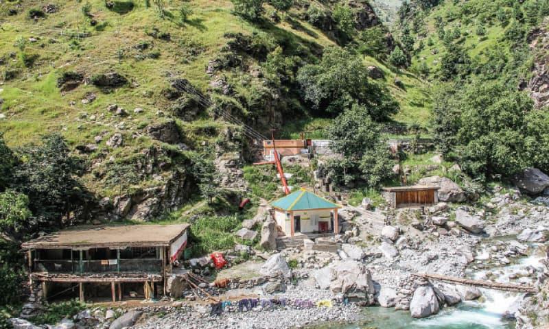 A micro hydel power unit in upper Swat. —Dawn