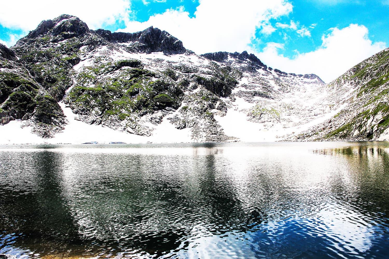 An enchanting view of Saidgai Lake.—Fazal Khaliq