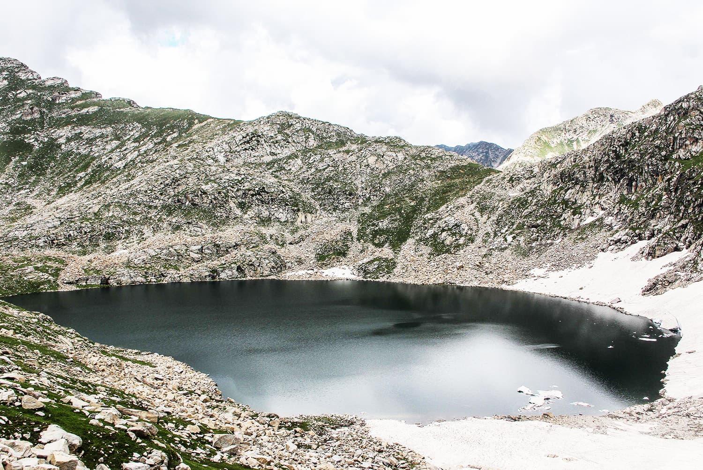 View of the magical Saidgai Lake.—Fazal Khaliq