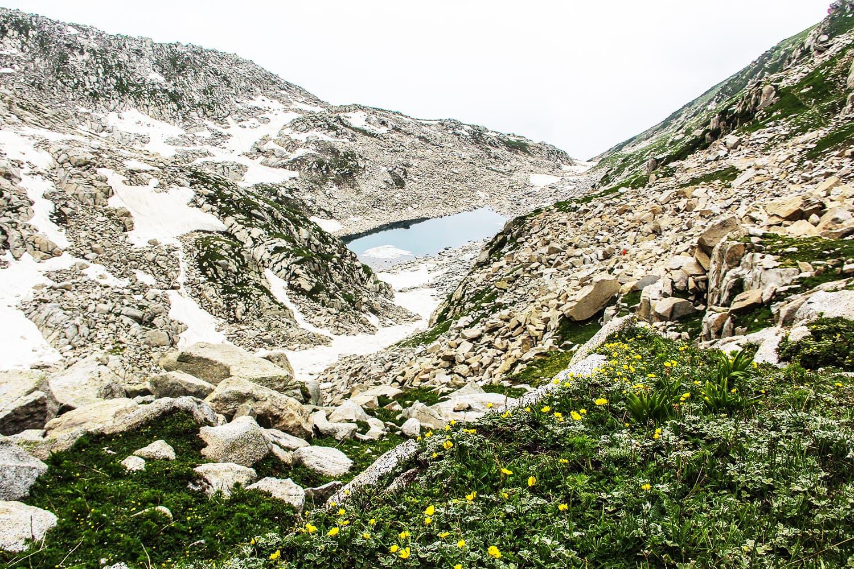 View of a small lake known as Kangar Lake closer to Saidgai Lake.—Fazal Khaliq