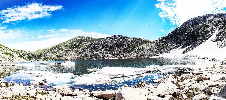 Full view of Saidgai Lake.—Fazal Khaliq