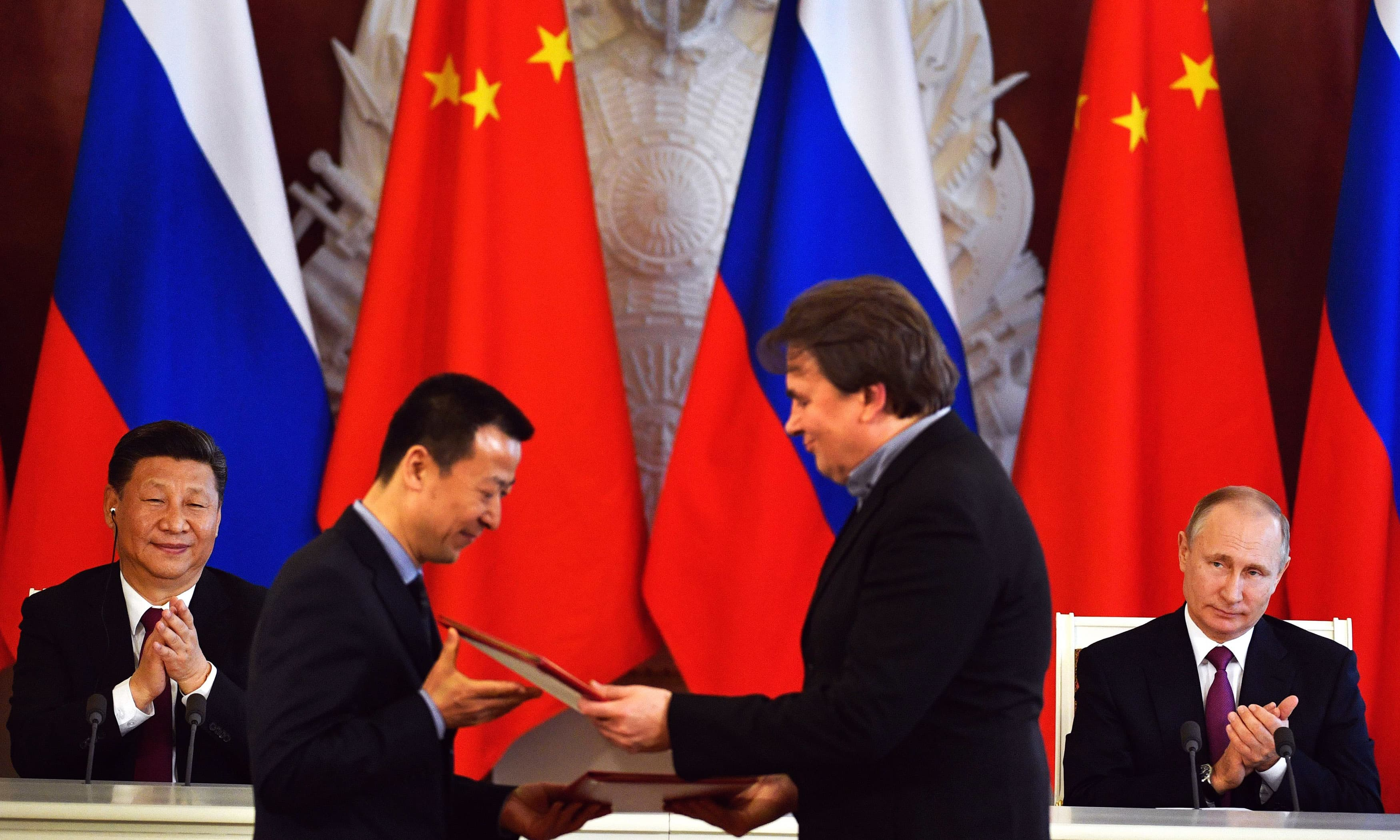Russia, China agree joint approach to N Korea, slam US over missile shield