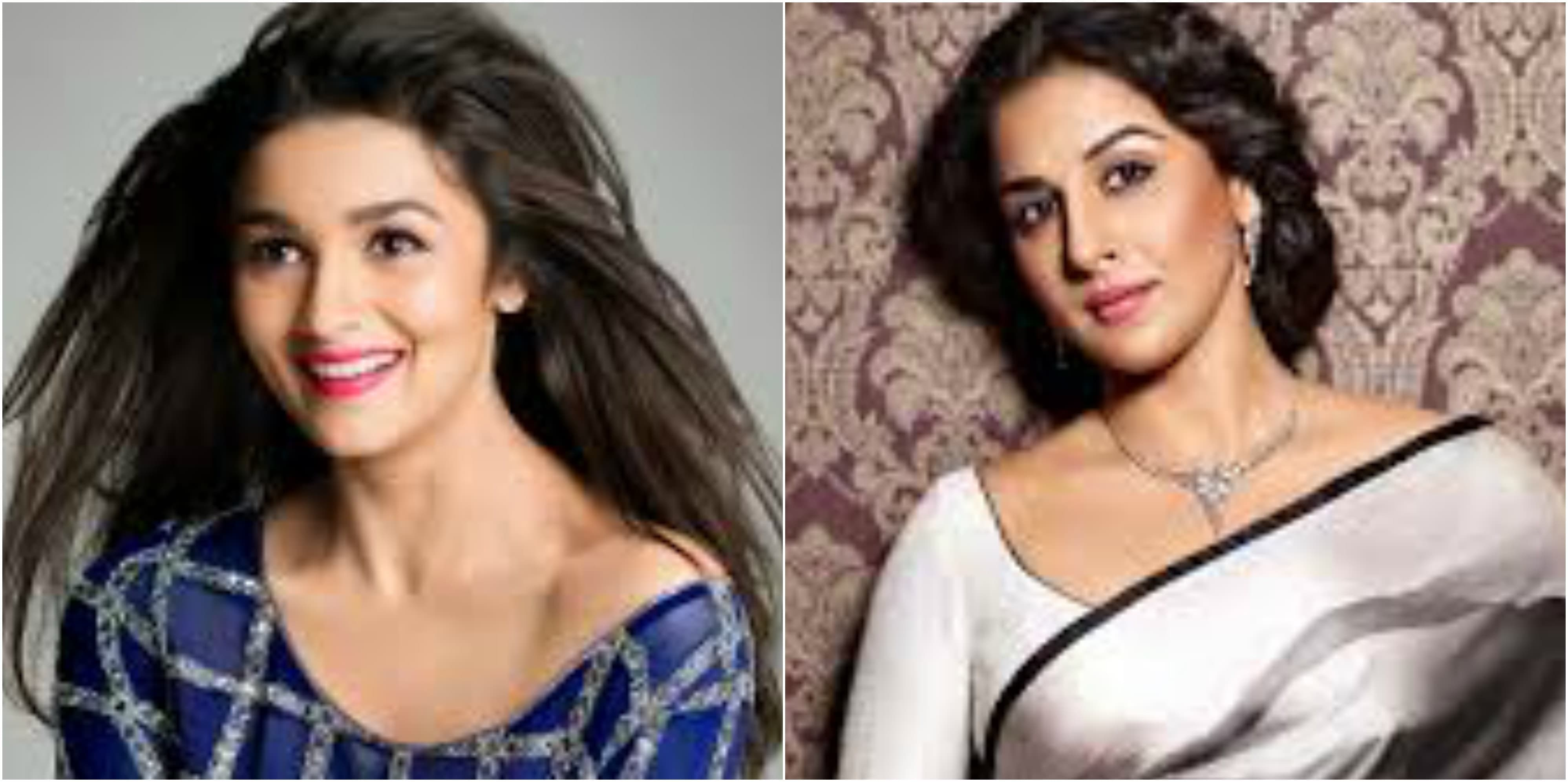 Alia Bhatt and Vidya Balan have been nominated for Best Actor Female category.