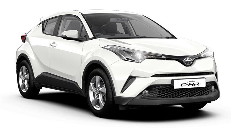 Toyota C-HR ─ Toyota Europe.