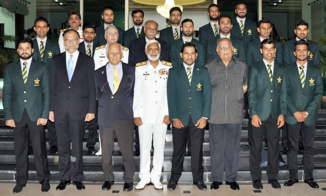 Admiral Zakaullah says Fakhar Zaman is pride of Pakistan, Navy