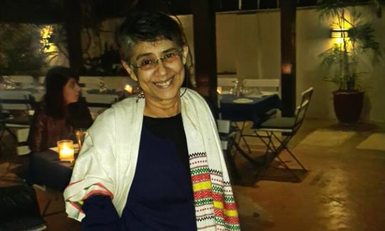 WAF activist and artist Lala Rukh passed away in Lahore at the age of 69 — Facebook
