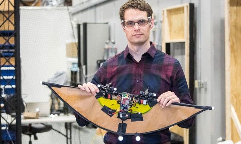 یہ ڈرون دنیا کا سب سے کم وزن ڈرون ہے—اسکرین شاٹ