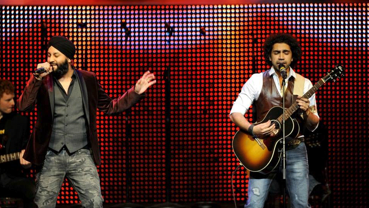 Canadian pop band Josh features Rup Magon and Qurram Hussain.