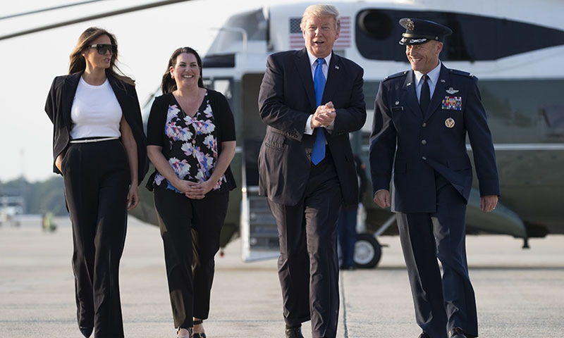 Trump heads to Paris but Russia scandal travels with him