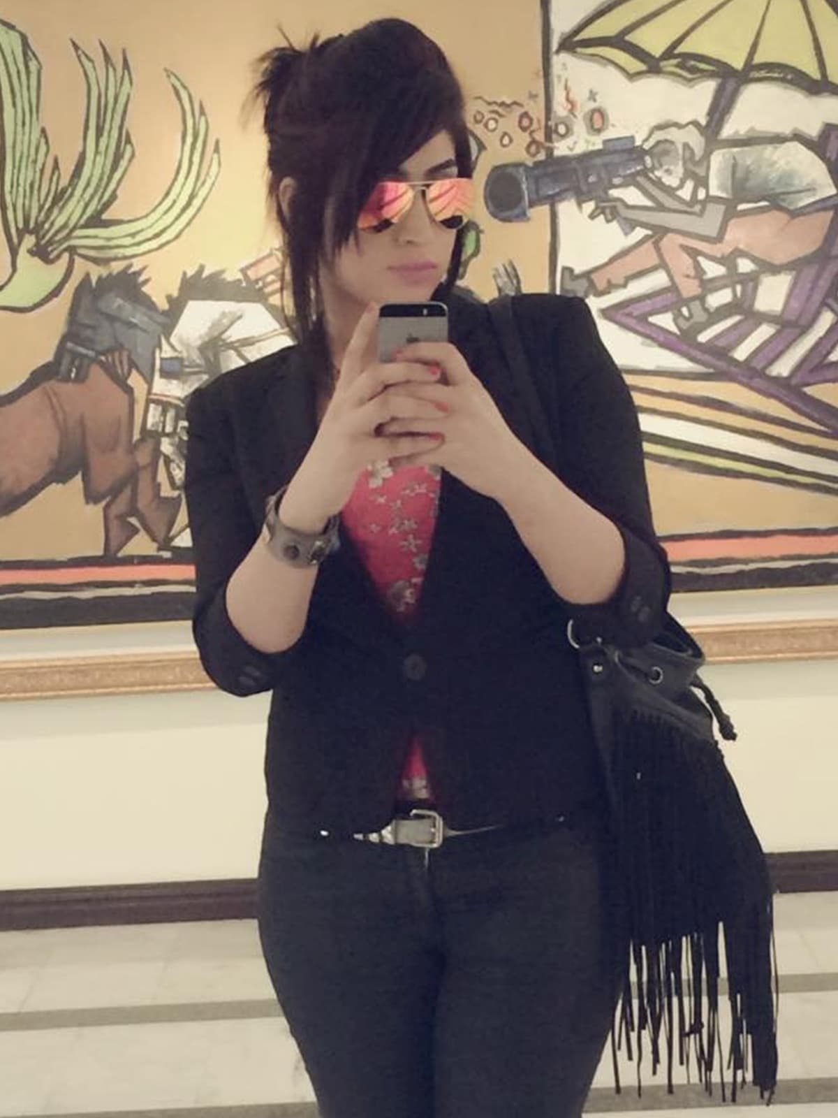 A selfie from Qandeel Baloch's Facebook page