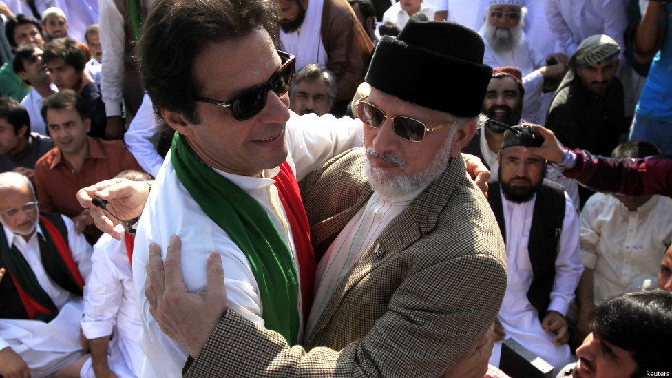 ATC moves to seize Imran Khan, Tahirul Qadri's assets after no-shows in terrorism case