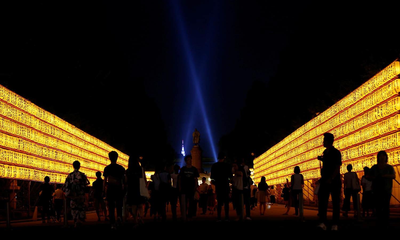 اس فیسٹیول میں ہر سال بڑی تعداد میں لوگ شرکت کرتے — فوٹو/ اے ایف پی