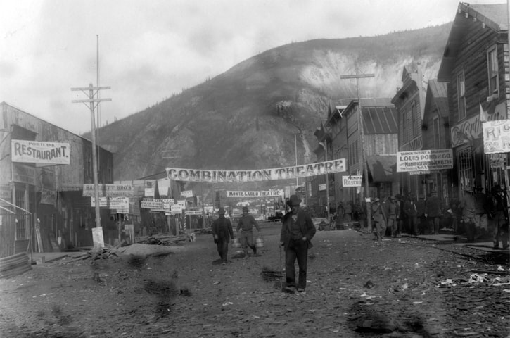 A still from the fi lm Dawson City: Frozen Time | Kino Lorber