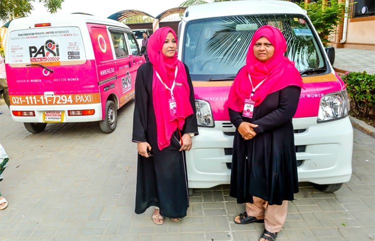 Pink Taxi pilots | Photos by Fahim Siddiqi / White Star