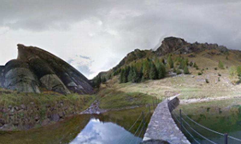 گوگل کے مصنوعی سسٹم سے لی جانے والی تصویر—فوٹو: گوگل