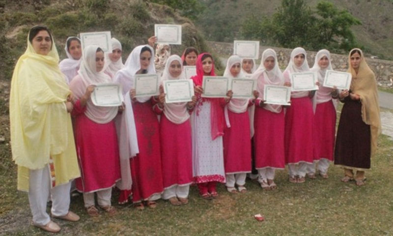 25 local women have started working as eco-guards to reduce pollution by tourists. — WWF Pakistan/The Coca Cola Company