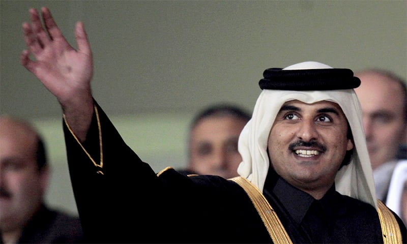 The Emir of Qatar, Tamim Bin Hamad Al-Thani