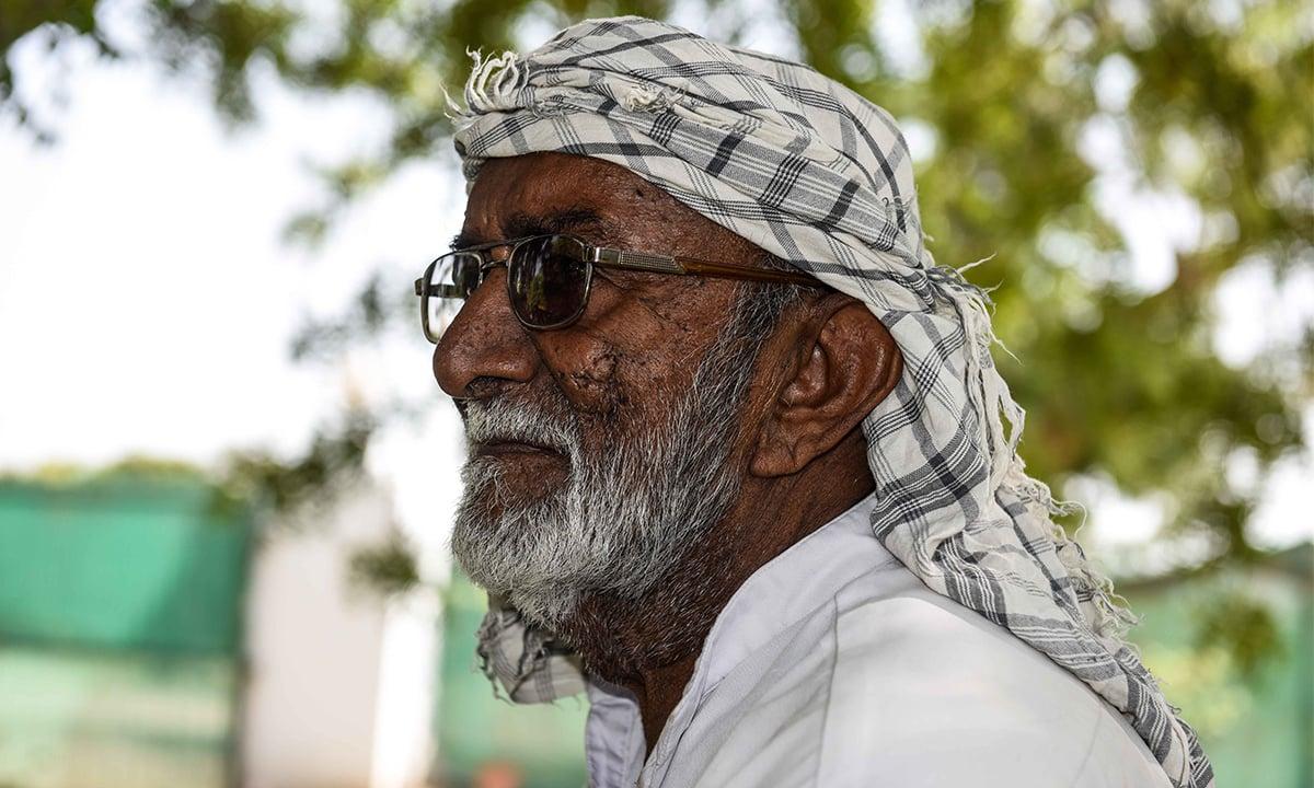 Rasheed, a retired employee of Kachelo Fruit Farms