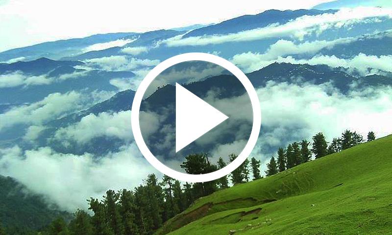 15 ہزار فٹ کی بلندی پر واقع حسین وادی