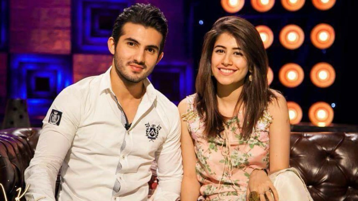 Shahroz and Syra appear on a talk show together