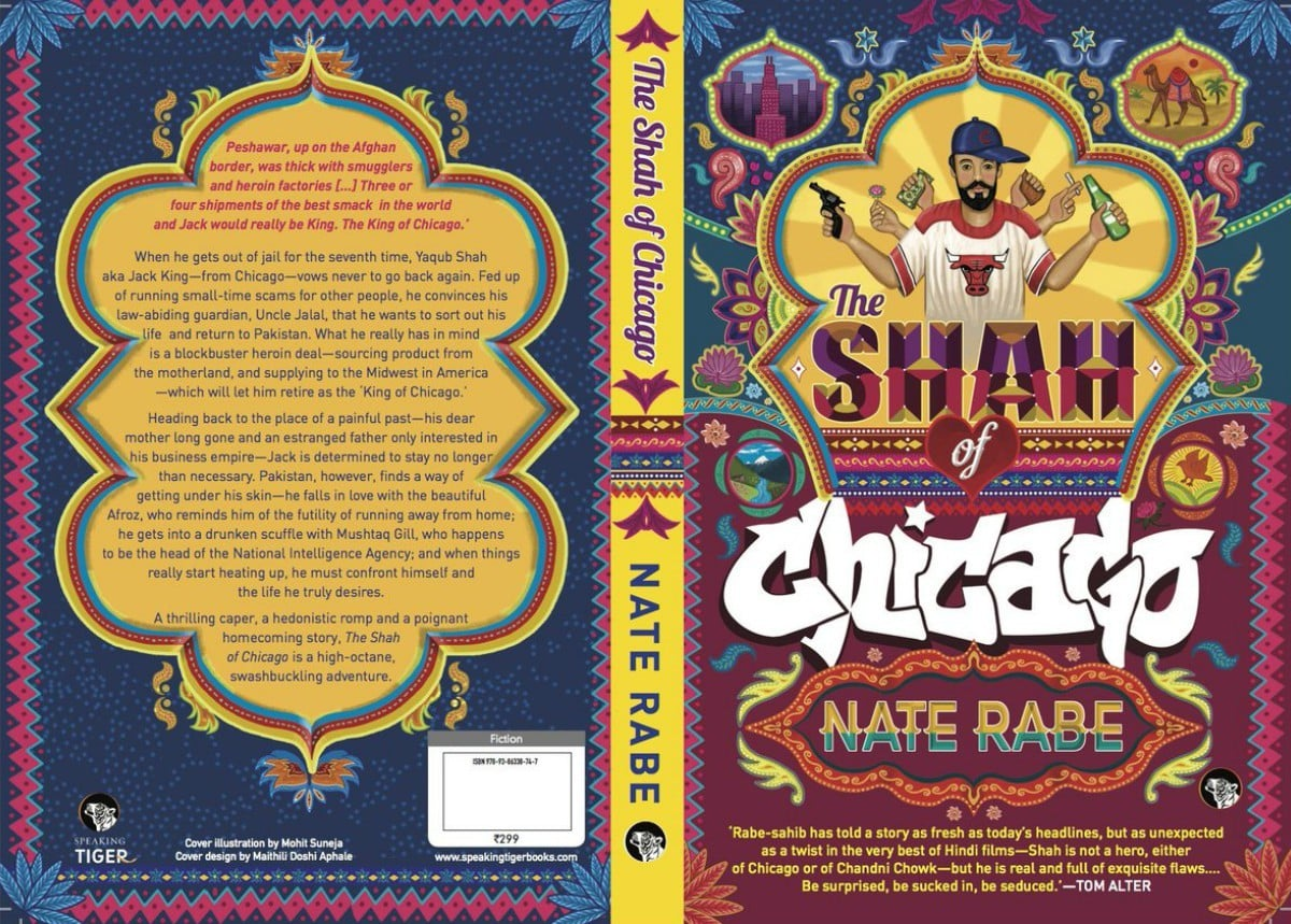 The cover art of Nate Rabe's Shah of Chicago