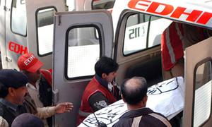 کراچی:پسند کی شادی کرنیوالے جوڑے پر حملے میں شوہر ہلاک، بیوی زخمی