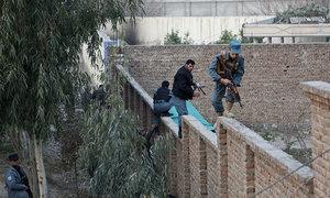 طالبان جنگجوؤں کا ضلعی ہیڈکوارٹر پر قبضہ