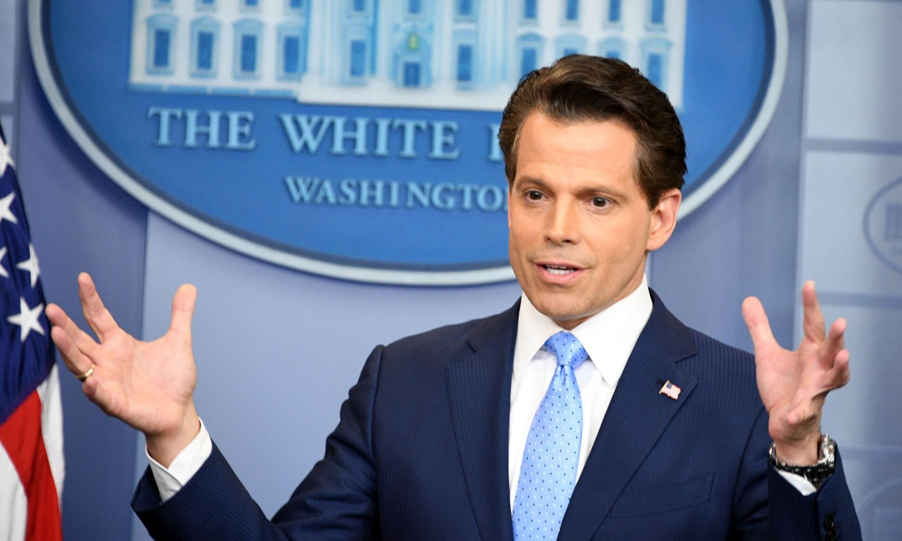 New White House communications chief deletes tweets Trump would not love
