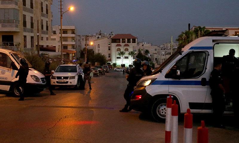اردن میں اسرائیلی سفارت خانے پر حملہ