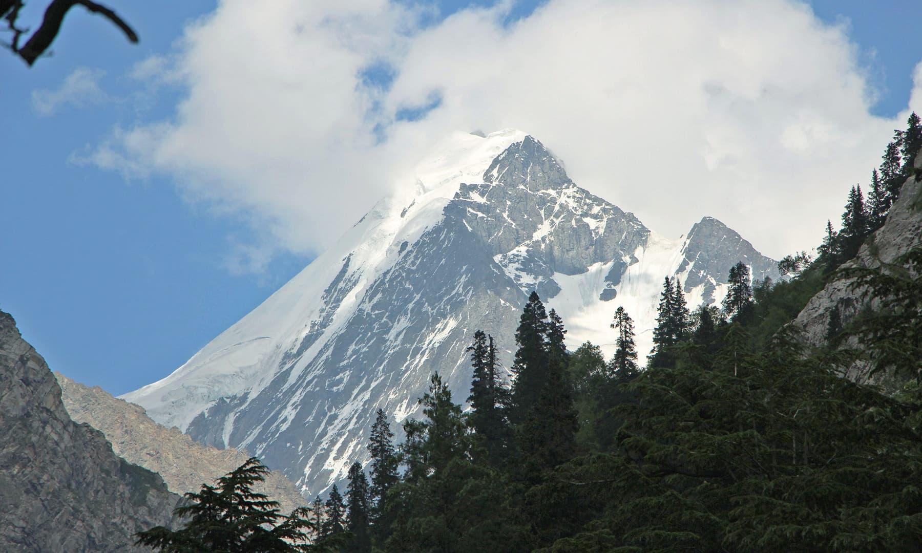 5918 میٹر بلند فلک سیر، جس کا دیدار بہت کم لوگوں کو نصیب ہوتا ہے— تصویر امجد علی سحاب