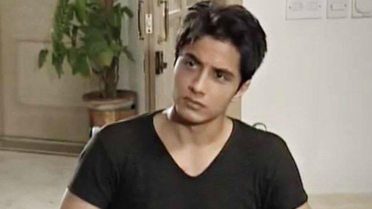 Ali Zafar in Landa Bazaar in 2002