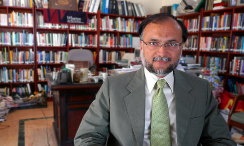 Minister for Planning and Development Ahsan Iqbal.— File photo