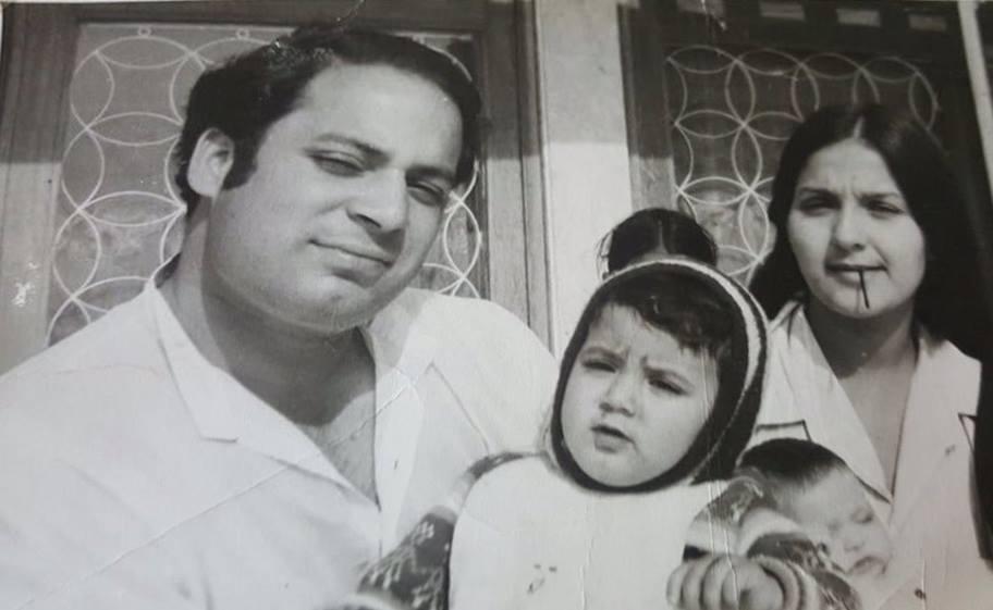 نواز شریف اپنی اہلیہ کلثوم کے ساتھ
