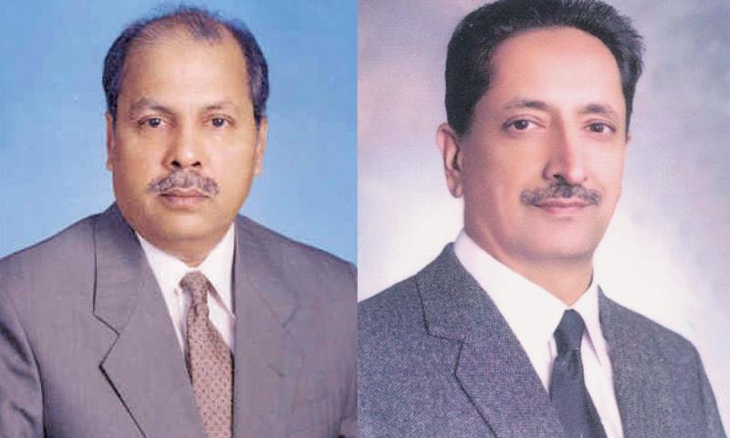 Justice Gulzar Ahmed / Justice Ejaz Afzal Khan